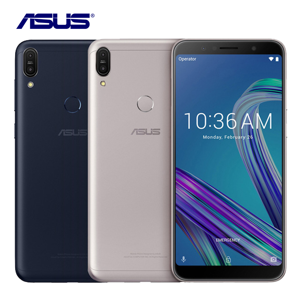 """2018 New Asus ZenFone Max Pro M1 ZB602KL 3G RAM 32G ROM Cellphone 6.0"""" Octa Core 13MP Android 8.1 5000mAh LTE Smart Mobile Phone"""