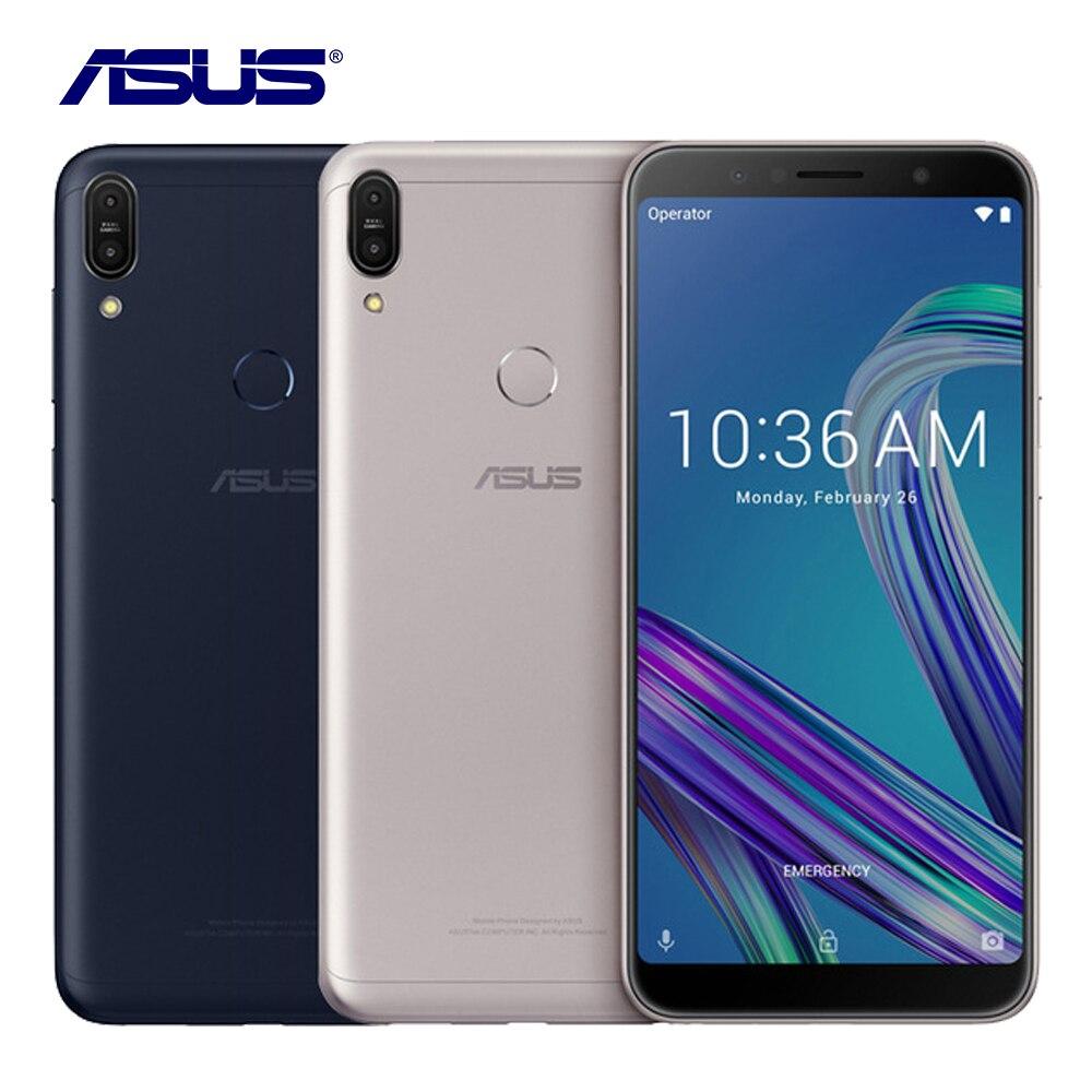 2018 Nouveau Asus ZenFone Max Pro M1 ZB602KL 3g RAM 32g ROM Téléphone Portable 6.0 Octa Core 13MP android 8.1 5000 mah LTE Smart Mobile Téléphone