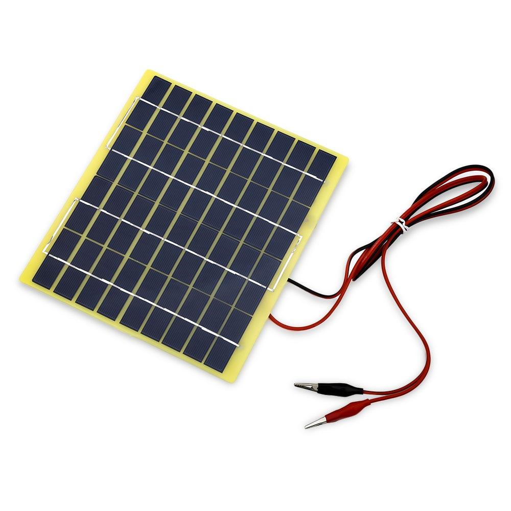 Buheshui 5watt 5w Solar Panel Solar Cell 5 Watt 12 Volt