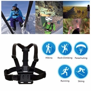 Image 5 - Adjustable Chest Body Harness Accessories Belt Strap Mount For Gopro Hero 5 Support All Action Sports Camera VeFly sport