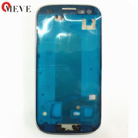 Original Silver Blue Grey Front Housing Frame Bezel For Samsung Galaxy S3 GT I9300 I9305 9300i