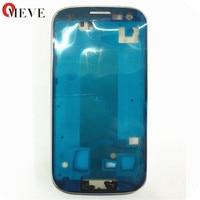 Original Silver Blue Grey Front Housing Frame Bezel For Samsung Galaxy S3 GT I9300 I9305 9300i