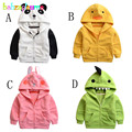 0-5Years/Autumn Winter Baby Boys Girls Jackets Coats Cartoon Soft Fleece Children Clothing Infant Outerwear Kids Clothes BC1156
