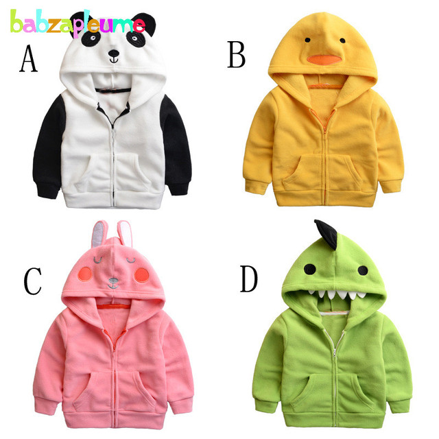 b41815b336b4 0 5Years Autumn Winter Baby Boys Girls Jackets Coats Cartoon Soft ...