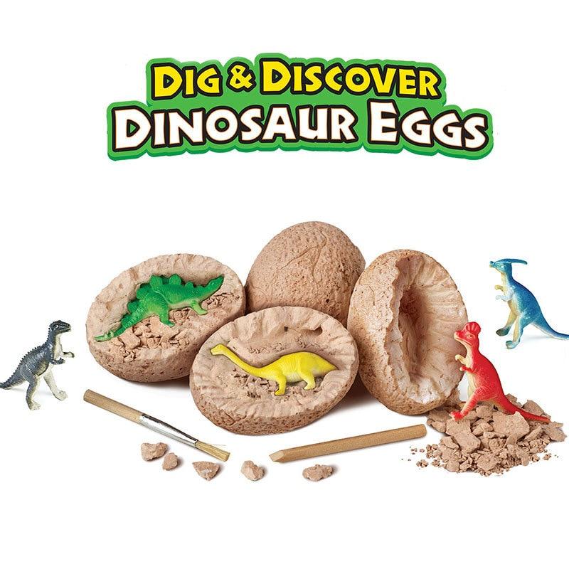 Jurassic World Simulation Dinosaur Egg Archaeological Excavation Toy Tyrannosaurus Rex Toys Model Educational Toys Science
