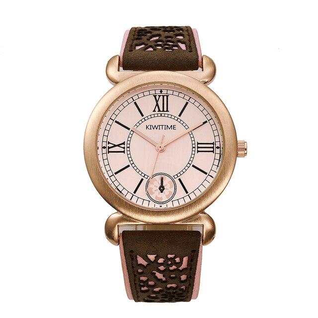 Kiwitime Günstige Gute Geschenk Kleid Uhren Frauen Mode Luxus Uhr