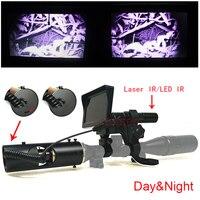 Sniper Zoom Outdoor Hunting Optics Monocular 4 16X40AOMC Tactical Digital Infrared Night Vision Telescope Binoculars With