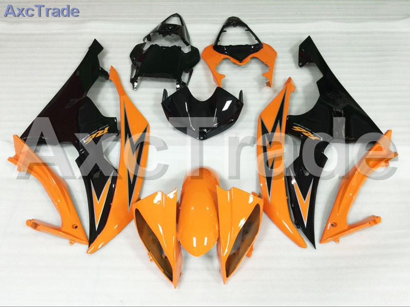 Motorcycle Fairings Kits For Yamaha YZF600 YZF 600  R6 YZF-R6 2008-2014 08 - 14 ABS Injection Fairing Bodywork Kit Orange Black injection molding bodywork fairings set for yamaha r6 2008 2014 blue white black full fairing kit yzf r6 08 09 14 zb77