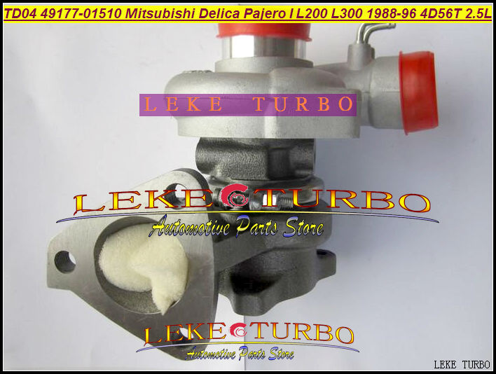 TD04 49177-01510 49177 01511 MD094740 MD106720 Oil Cool Turbo For Mitsubishi SHOGUN Delica Pajero L200 L300 88- 4D56T 4D56 2.5L футболка print bar shogun assassin