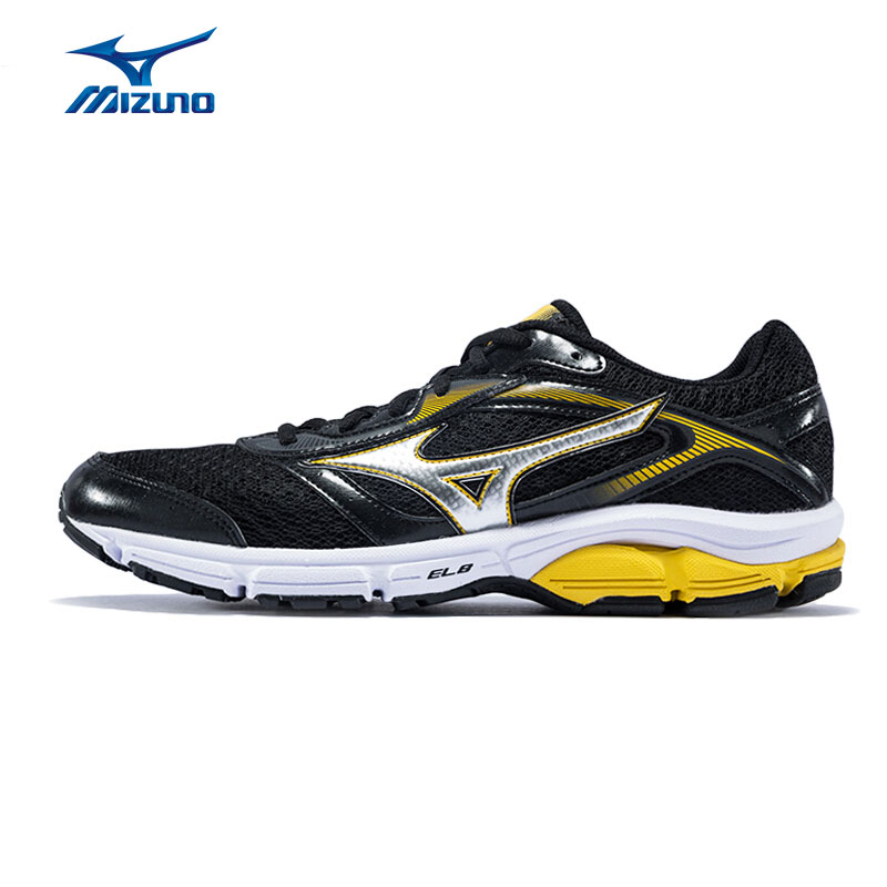 MIZUNO Men's WAVE IMPETUS 4 Running Shoes Cushioning Breathable Sports Shoes Light Weight Sneakers J1GC161319 XYP535 mizuno breath thermo socks light ski mzn73uu152 мужские