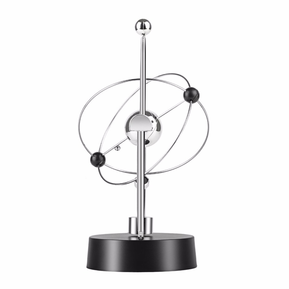 Magnetic Swing Kinetic Orbital Craft Desk Decoration Perpetual Balance Celestial Globe Newton Pendulum Home Ornaments