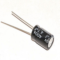 Electrolytic Capacitor Into 400 V 4 7 UF Volume 8 12 Mm