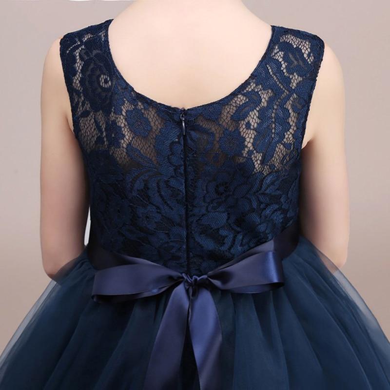 Chaffare Girls Dress Mesh Lace Wedding Party Sukienki dziecięce - Ubrania dziecięce - Zdjęcie 5