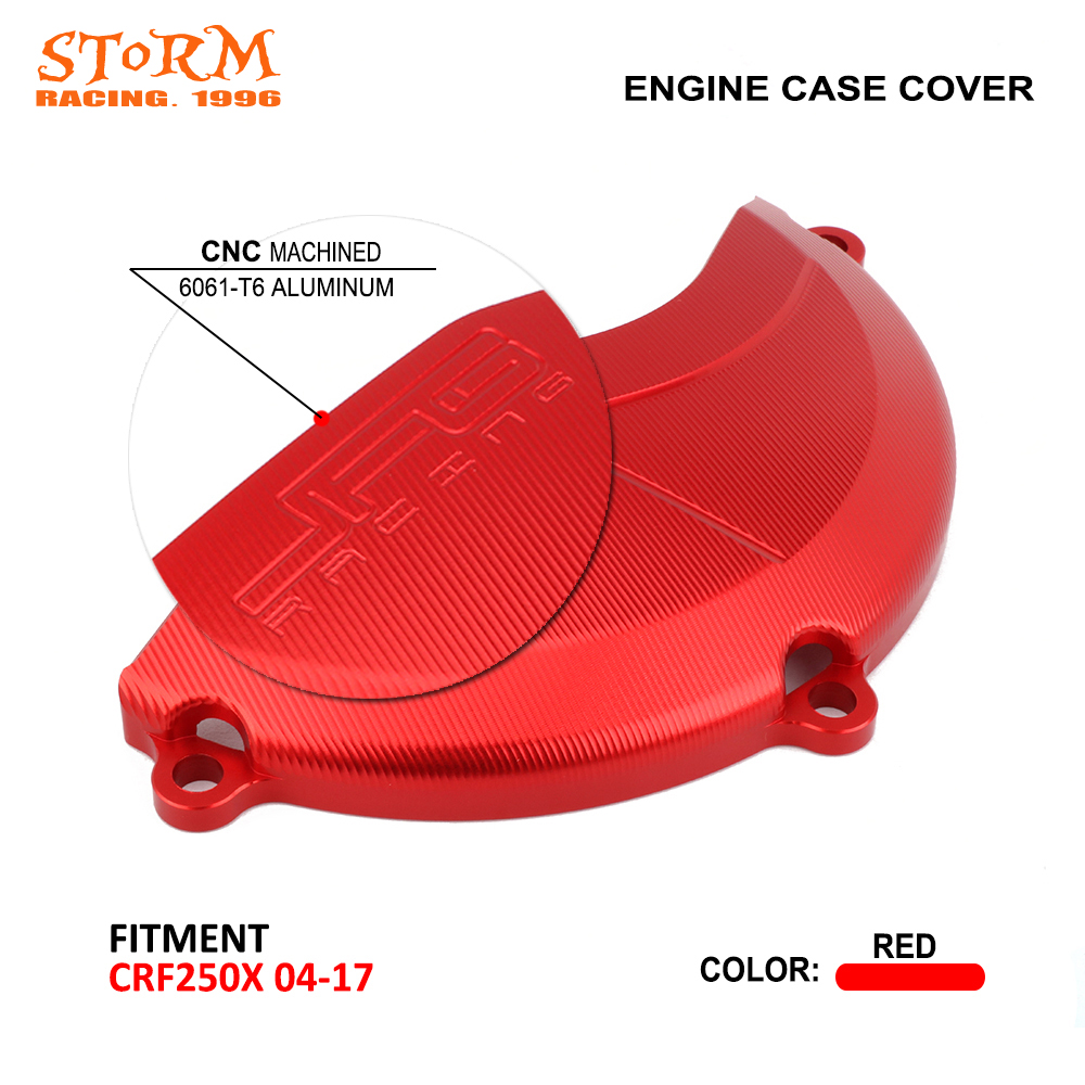 Motorcycle Right Side Engine Clutch Cover Guard Case Protector For Honda CRF250X <font><b>CRF</b></font> <font><b>250X</b></font> <font><b>2004</b></font> 2005 2006 2007 2008 2009-2017 image