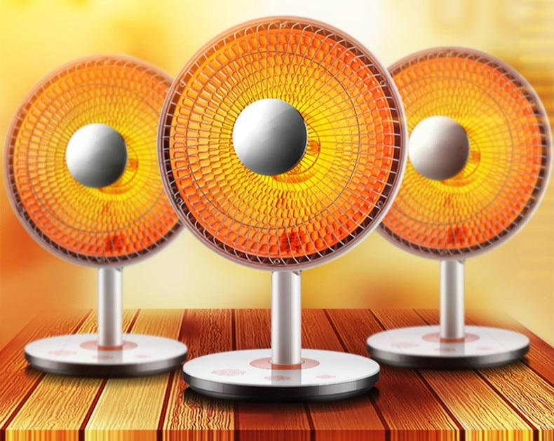 все цены на Small solar heater household mini electric heaters KaoHuoLu bathroom office electrical fan онлайн