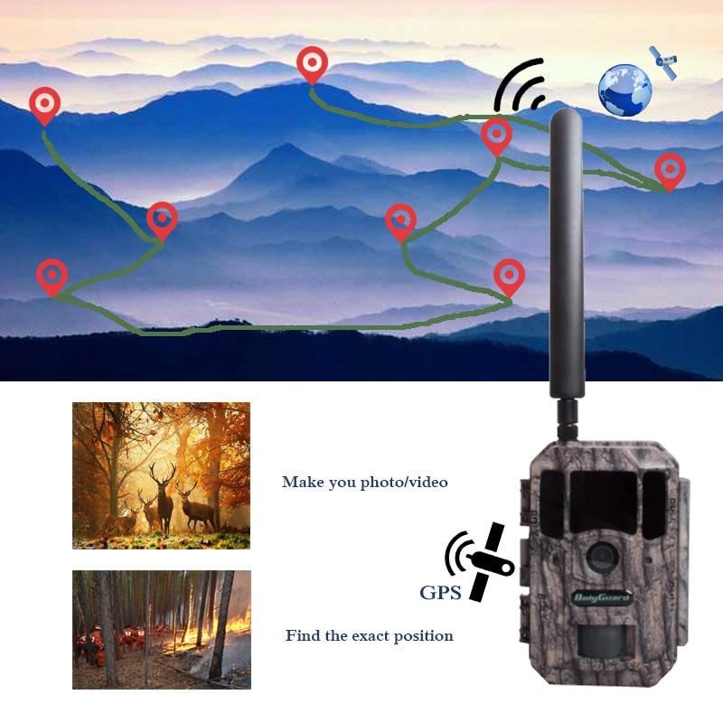 Bolyguard hunting camera 4G GPS Trail Camera night vision MMS SMS Black IR 36MP 100ft Photo