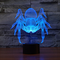 Spider Led Light .Amazing 3D night light