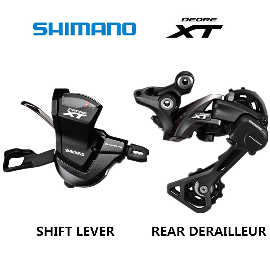 SHIMANO DEORE XT M8000 Groupset SL M8000 SHIFT LEVER RD M8000 REAR DERAILLEUR MTB 11 SPEED