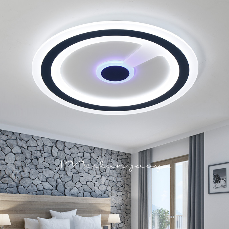 Creative LED ceiling lamps lighting living room ultra thin modeling LED bedroom lam round and warm ceiling light ZA1030451 ceiling lights ceiling lamp lightliving room - title=