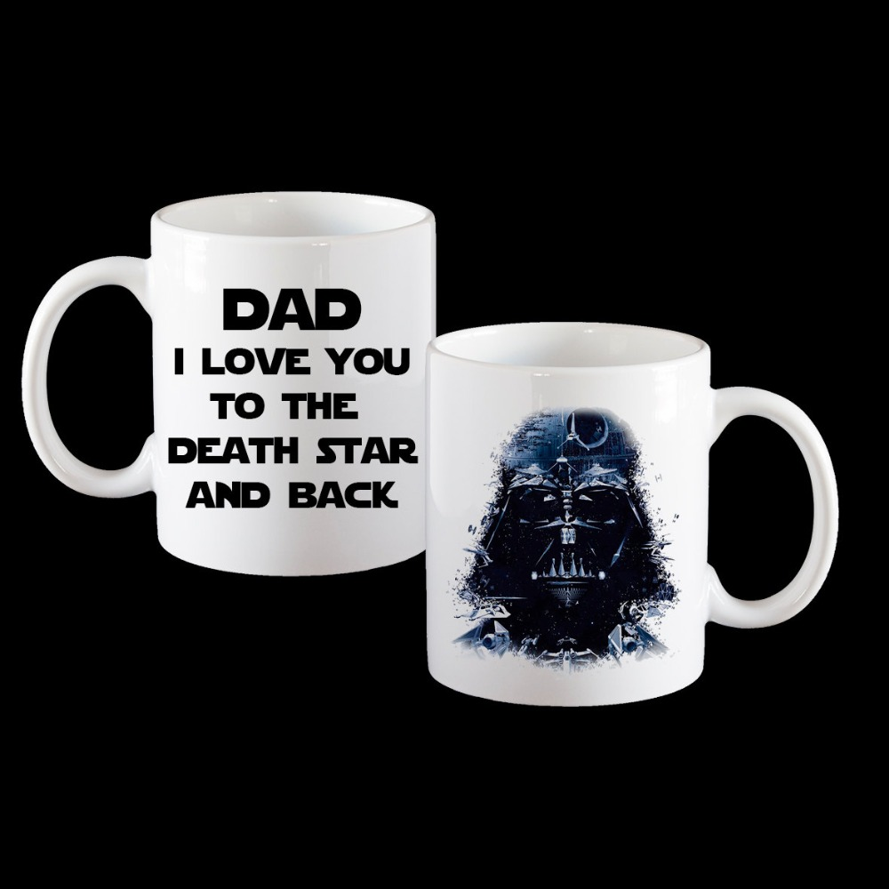 Darth Vader Star Mugs Wars Coffee Mug Tea Beer Home Decal Novelty Porcelain Cup Birthday Present Gifts In From Garden