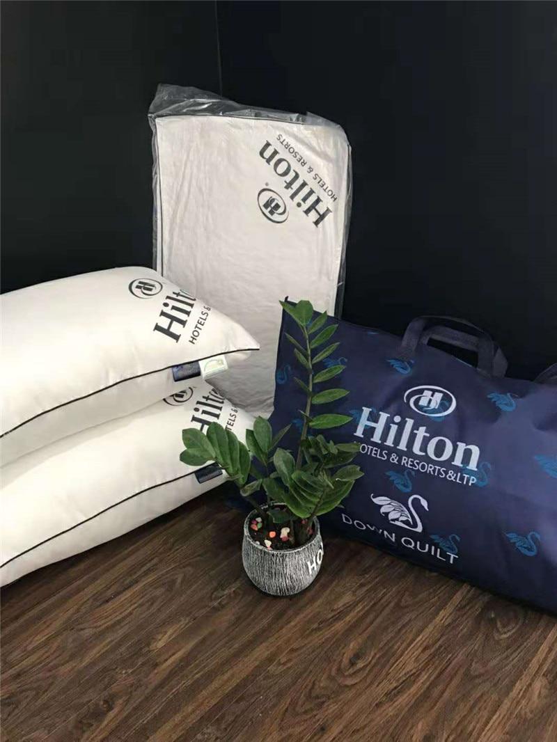 2PCS/Lot New Super Soft Pillow. Hotel Pillows. Household Pillows. Solid Color Pillows.Manufacturer Sales.48x74cm