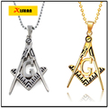 New Arrival collares Jewelry Hip hop long necklace plated High quality Hip-Hop Masonic pendant Fashion For Men choker necklace