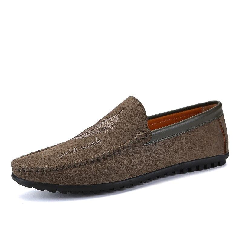 Suave Casuales brown Hombre Black Mocasines Hombres Los Y Sx3 Ligera gray Cuero yellow Suela Gamuza Transpirable De Calzado Conducción Zapatos Zapatillas 8vqnTZwf
