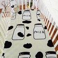 Bebê Lençol 100% Algodão Têxteis Lar Lençóis Covers Protetor Capa de Colchão folha de berço fundamento do bebê set 120*65 cm