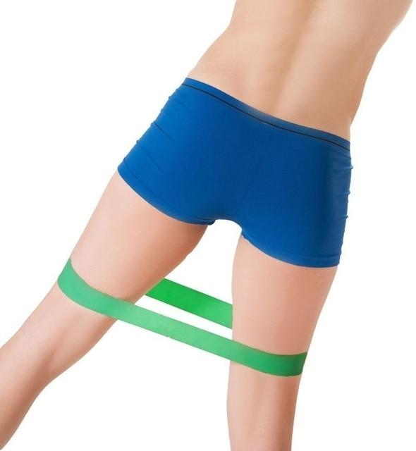 DHL 100Set 5PCS Set Elastic Resistance Bands Workout Rubber Loop For Fitness Gym Strength Training Elastic