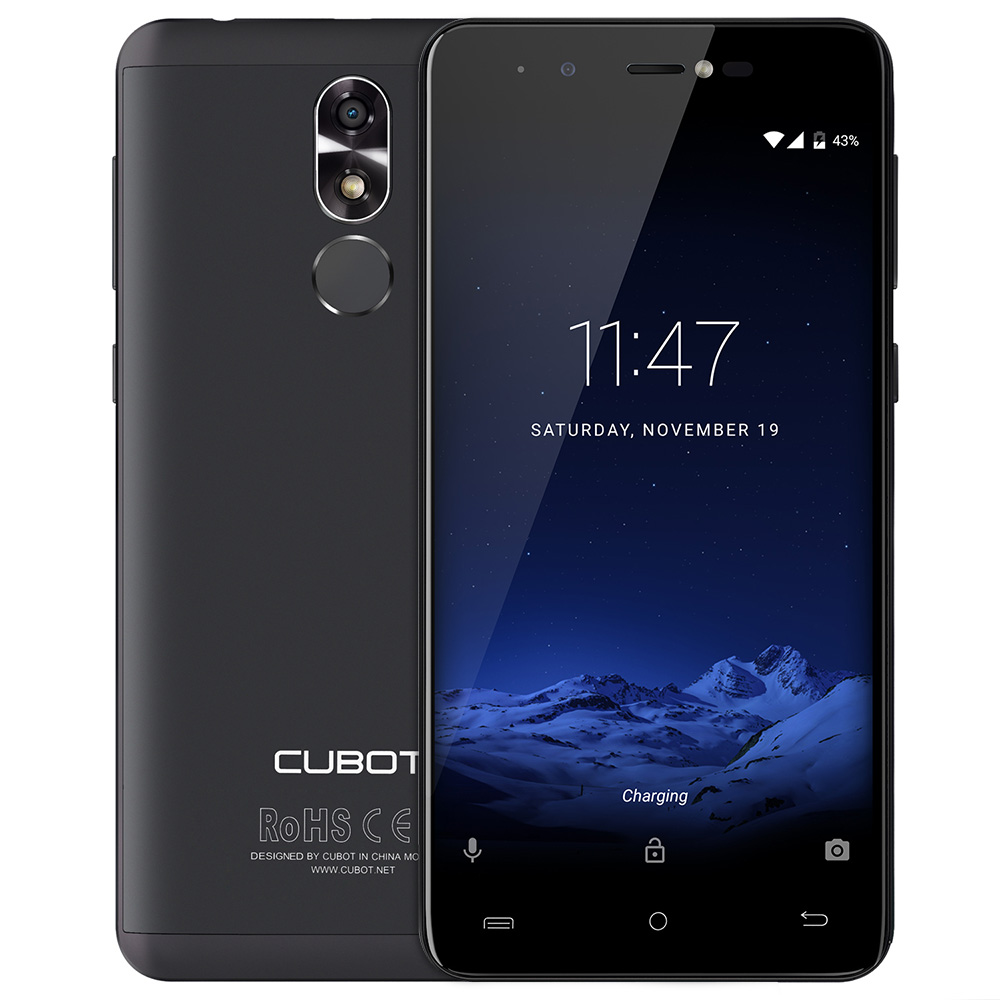 CUBOT R9 3G Android 7.0 Smartphone 2GB RAM 16GB ROM Quad Core Mobile Phone 13.0MP AF Flashlight + Front Camera 5.0MP Cell Phone
