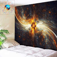 Galaxia Decoracion Hippie Toalla Playa Stranddoek Arte Abstracto psicodélico tapiz colgante de pared Mandala tela de tapete para yoga