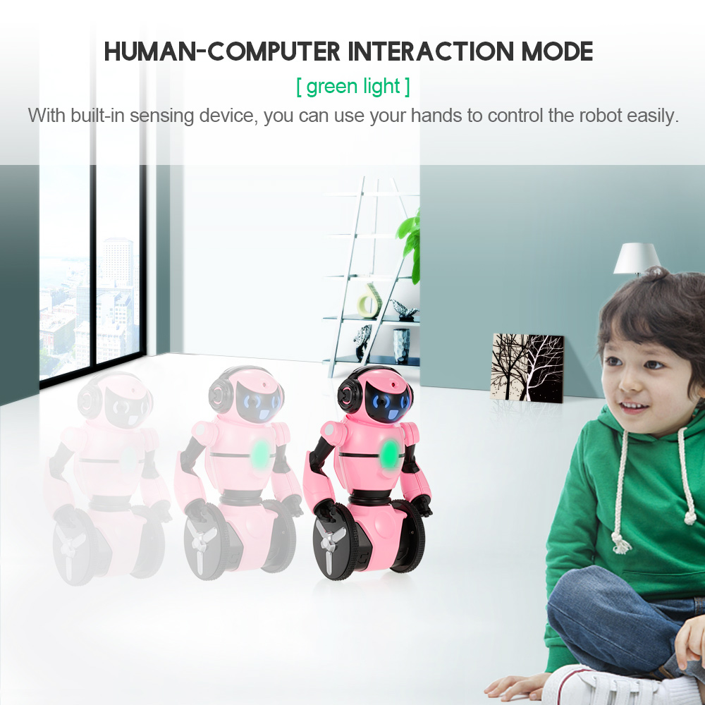 Wltoys RC Robot F4 0.3MP Camera Wifi FPV APP Control Intelligent G-sensor Smart Robot Super Carrier RC Toy Gift for Children (21)