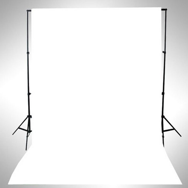 WHITE Thin Vinyl Photography Backdrop Background Studio Photo Prop Durable 3x5ft R179T Drop Shipping