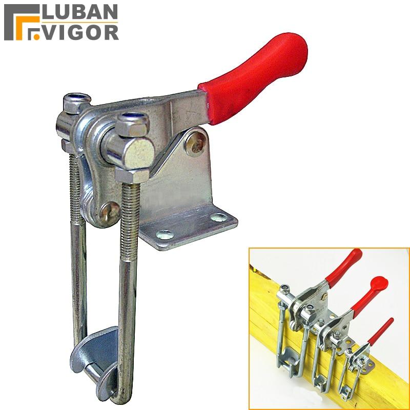 Latch-type locking clip ,Fast presser Horizontal fixture,sturdy,durable,Woodworking press clamps,40324/334/344 стоимость