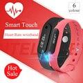 Nuevo 2016 pantalla táctil smartwatch gimnasio rastreador sleep monitor de ritmo cardíaco de bluetooth 4.0 smart watch para ios android smartwatches