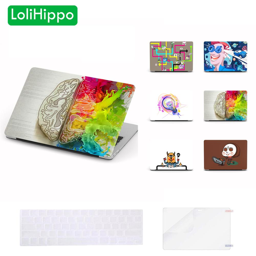 LoliHippo Idea Series Laptop Protective Hard Case for New font b Apple b font font b