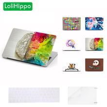 LoliHippo Idea Series Laptop Protective Hard Case for New Apple Macbook Air Pro 11 13.3 15.4 Inch Retina Computer Notebook Cover