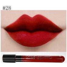 12 Colors Lip Gloss Waterproof Matte Velvet Long Lasting Lip Pencils 1Pc