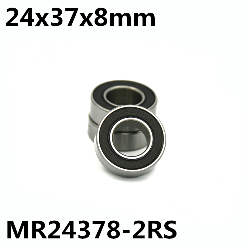 1Pcs MR24378-2RS 24x37x8 mm Bicycle bearing MR2437H8-2RS Replacement 24378