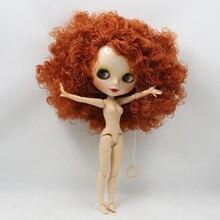 ICY Neo Blythe Кукла Красные волосы, соединенные с телом 30cm