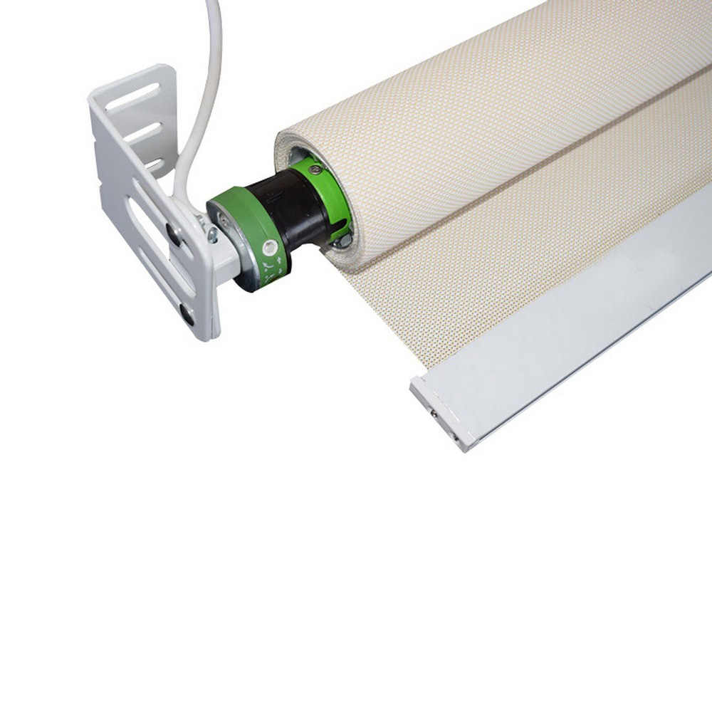 12V Automatic Electric Curtain Motorized Rolling Blind Shutter DIY Roller Shade Motor Tubular Intelligent Remote Control