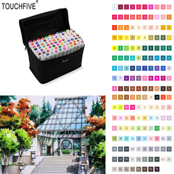 Touchfive 80 colors drawing marker pen animation sketch copic markers set for artist manga graphic alcohol.jpg 250x250