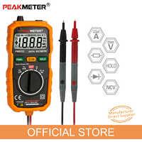 PEAKMETER nouvelle offre spéciale sans Contact Mini multimètre numérique DC AC testeur de courant de tension PM8232 ampèremètre Multi testeur