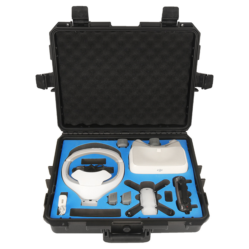 Safety Transport Travel Hardshell Drone Case For DJI Goggles VR Glasses/MAVIC Pro Bag for DJI Spark Box Storage Accessories dji spark glasses vr glasses box safety box suitcase waterproof storage bag humidity suitcase for dji spark vr accessories