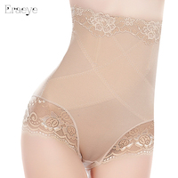 High Waist Abdomen Slim Sexy Pants Underwear Lady Seamless Hip Lace Pants Body Accept Stomach Body