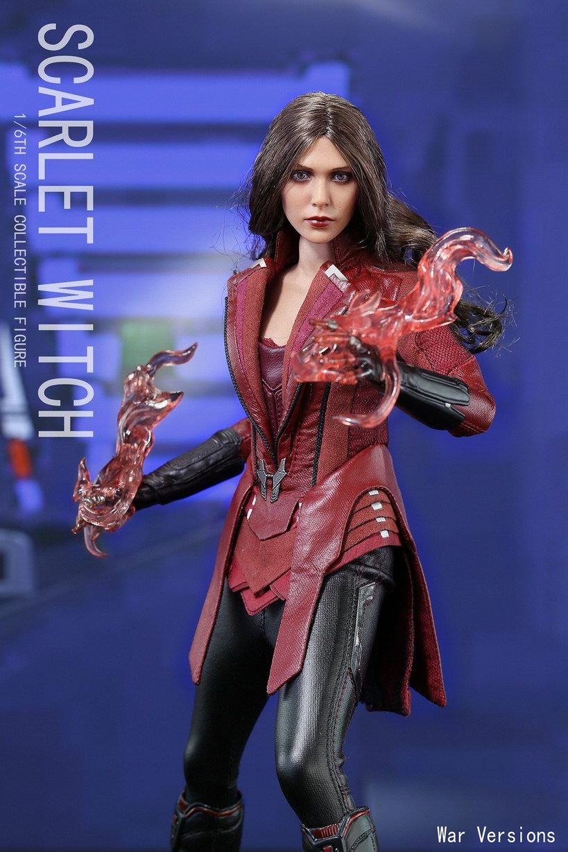 Third Party 1/6 Scarlet Witch Collectible Figure Toys The Avengers II Captain America 3  Stealth Version and Combat Version victorian america and the civil war