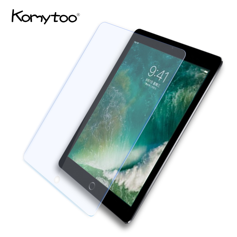 Anti-Blue Tablet Screen Protector Glass For iPad 2 3 4 Air Pro Apple 2017 New Pad 9 Hardness Full Cover Screen Film For iPad