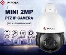 IMPORX 1080P HD PTZ IP Camera 2.0MP 36X Zoom Mini Speed Dome Waterproof Outdoor IR Night Vision P2P CCTV Security