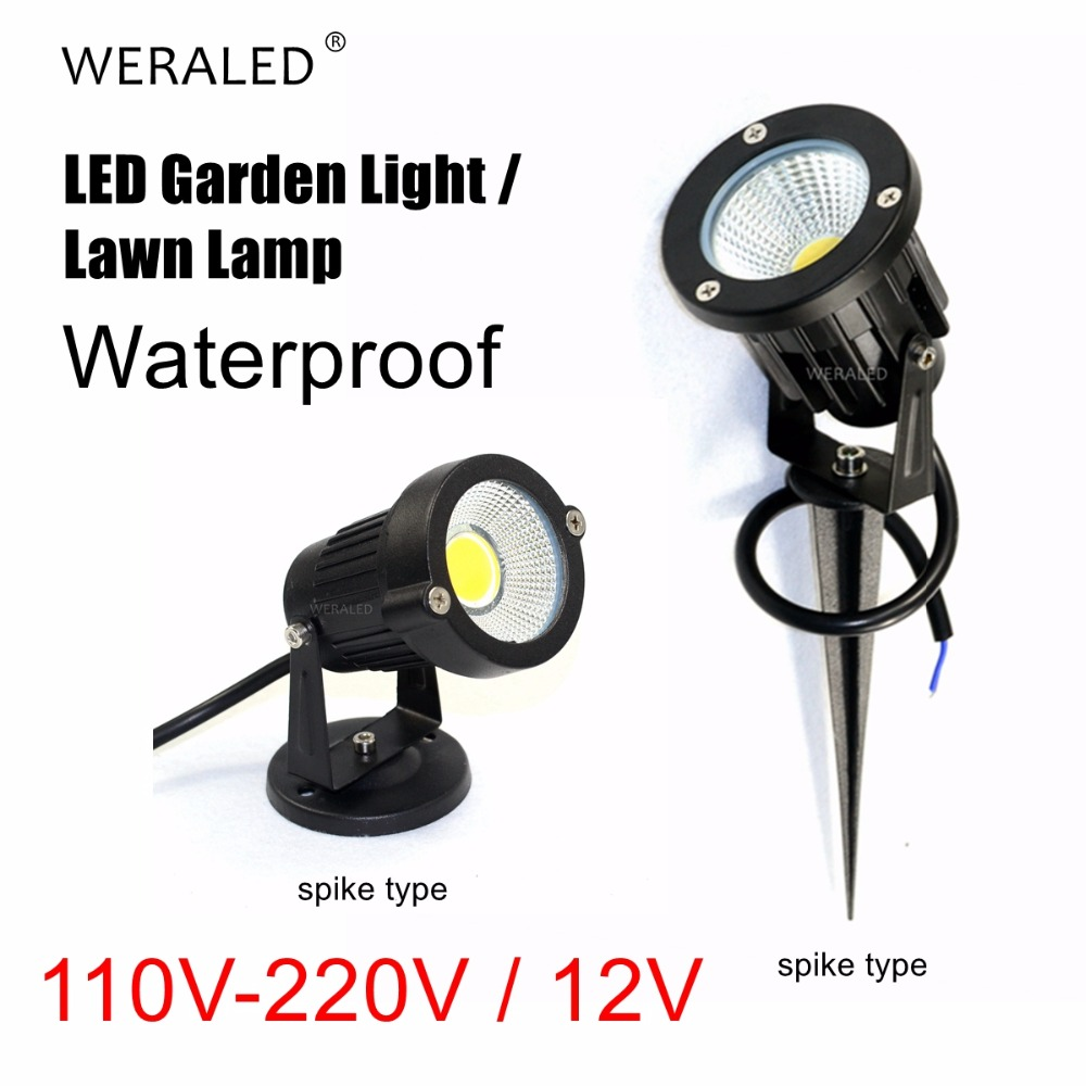 Outdoor Lighting LED Lawn Lamp Waterproof Led Garden Wall Yard Path Decoration Light 3W 5W 7W 9W Warm White Cold White