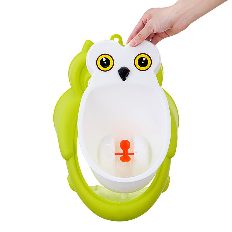 Baby boy Urinal Pee Frog and Owl baby toilet training Colored Children Potty Baby Urine Groove PP hooked Urinal for kids (8)